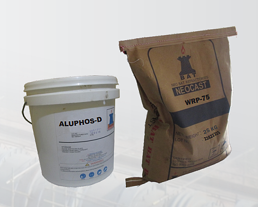 Wear Resistance Plastic Refractory (WRP)